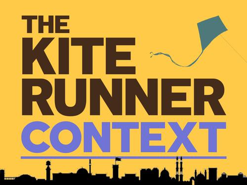 The Kite Runner: Context
