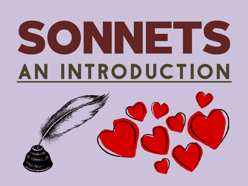Sonnets: An Introduction