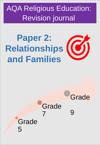 Student revision journal: AQA Relationships & Family paper 2