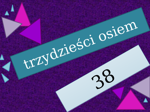 Liczby (Numbers in Polish) 1 to 99 Review Game