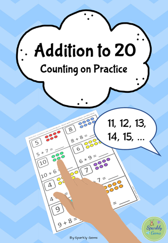 Addition to 20 - Counting on