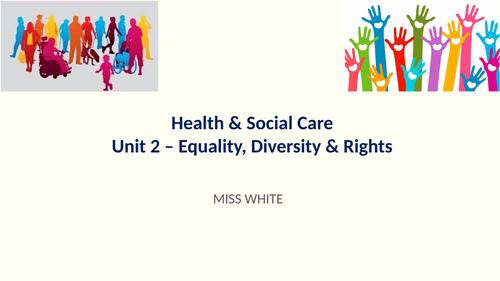 CTEC Health & Social Care Unit 2 LO1 resources