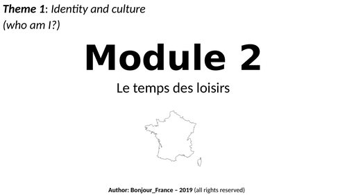 High School Languages Resources: French Activities for 9th