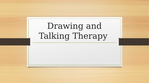 Drawing and Talking Therapy