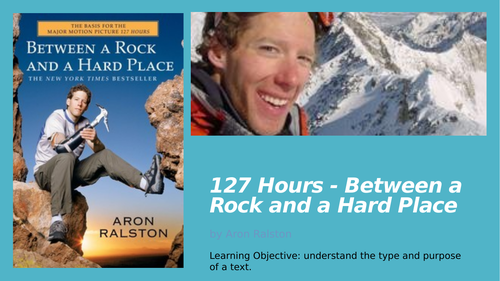 127 Hours - Between a Rock and Hard Place Analysis Lessons