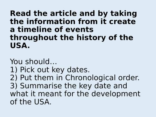 L2 - Distribution of Black Americans Edexcel A Level History Civil rights  USA, 1850-2009