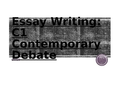 WJEC Eduqas A-Level Psychology Contemporary debate Exam technique workbook