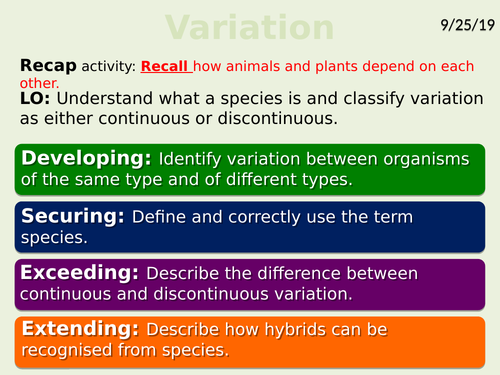 Exploring Science 7D- Ecosystems