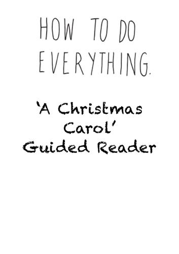 Christmas Carol Text Guide.A Christmas Carol Gcse Guided Reader Study Guide