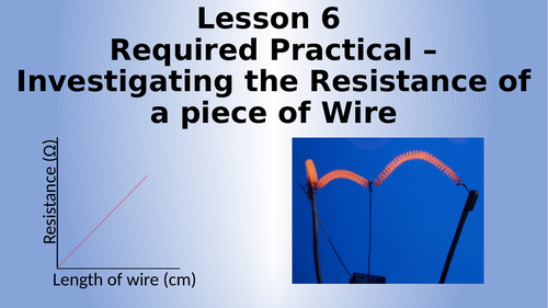 AQA Physics Required Practical - Resistance of a Piece of Wire