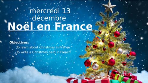 French Christmas bundle (KS3 and KS4)