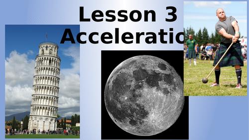 AQA Physics Acceleration Lesson