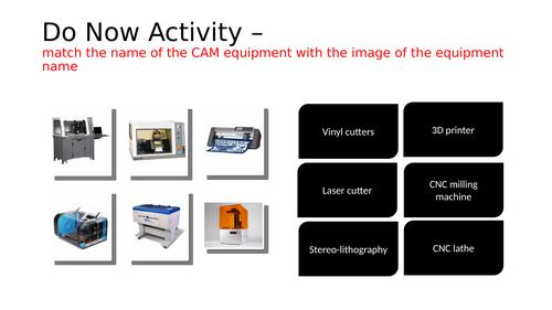 CADCAM Starter Activity