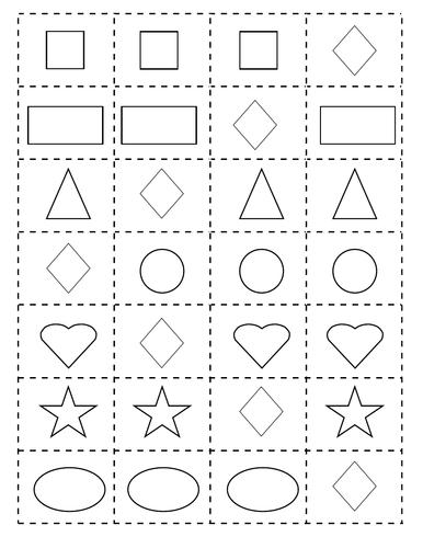 DIY World Language Shapes & Colors Game Cards | ESL | Spanish