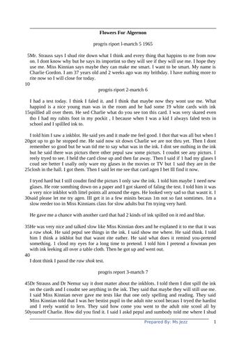 Year 9 IGCSE English Comprehension 3