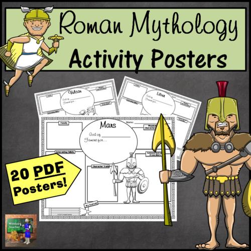 Roman Mythology Activity Posters