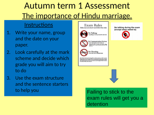 Essay structure for Y8  Hinduism (Rama and Sita assessment on the importance of Hindu Marriage)