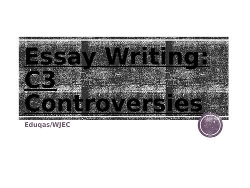 JEC Eduqas A-Level Psychology Controversies Exam technique  workbook