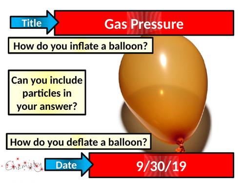 Gas Pressure - Activate