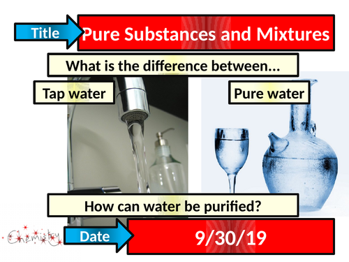 Pure Substances and Mixtures - Activate