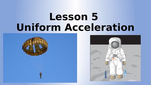 AQA Physics Uniform Acceleration Lesson