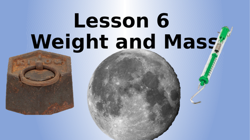 AQA Physics Weight and Mass Lesson