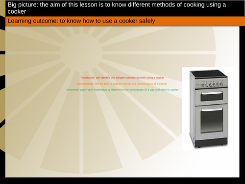 LO3 Cooker safety