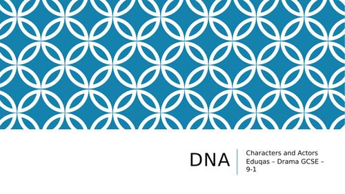 DNA character focus