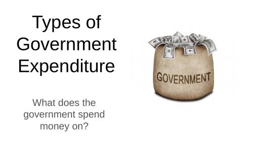 Economics: Public Expenditure (NEW SPEC) - Edexcel