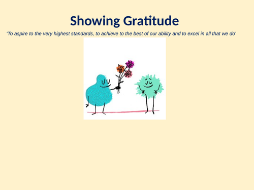 Showing Gratitude Assembly