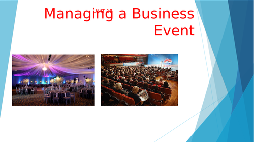 Managing a Business Event