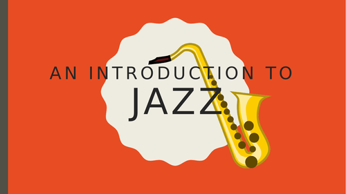 Introduction to Jazz KS3