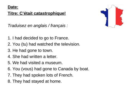 AQA Studio GCSE French (Higher) - Module 5 - C'était catastrophique - Page 111
