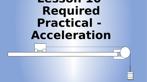 AQA Physics Required Practical - Acceleration