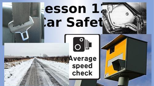 AQA Physics Car Safety Lesson