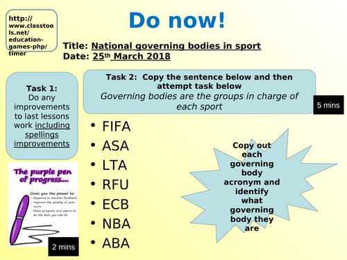 OCR Contemporary issues in sport LO4