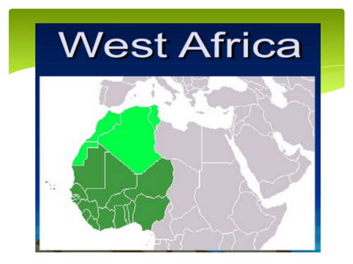 Geography of West Africa: Contains maps and illustrations.