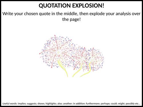 Quotation explosion!