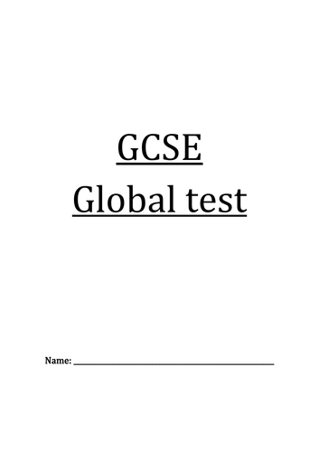 GCSE PROGRESSION TEST+ANSWERS Step by Step.