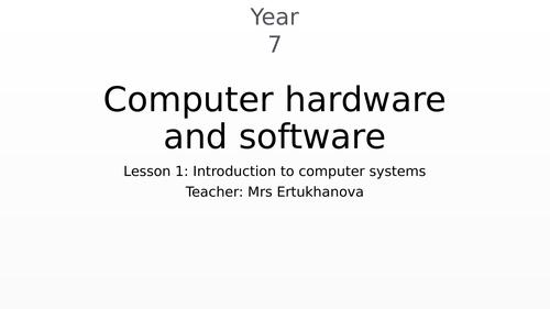 Intro to hardware