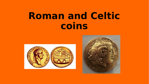 Roman and Celtic coins