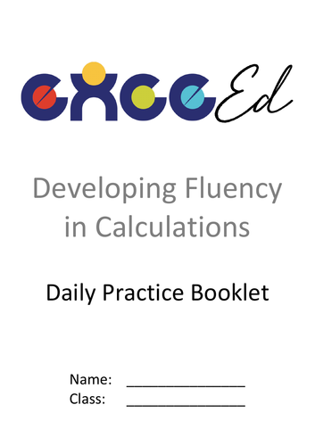 Daily Fluency - Add & Sub (Sample Set)
