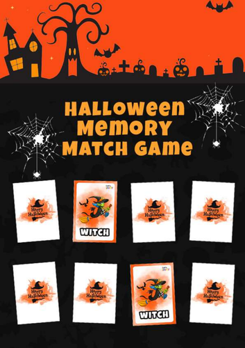 HALLOWEEN MEMO CARDS