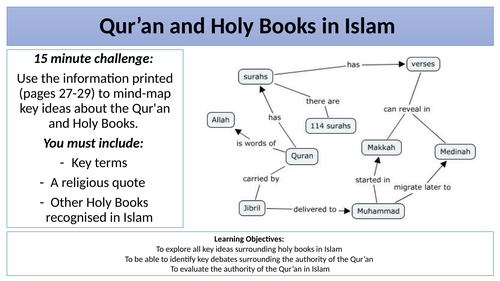 AQA Qur'an Revision Lesson