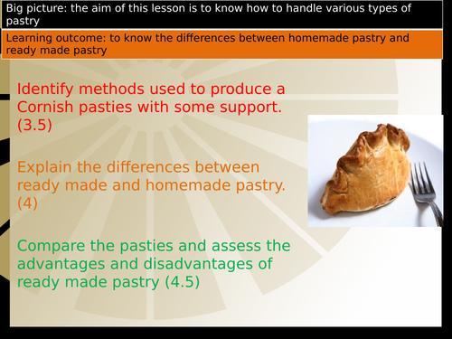 Short crust pastry - Mini Cornish pasties