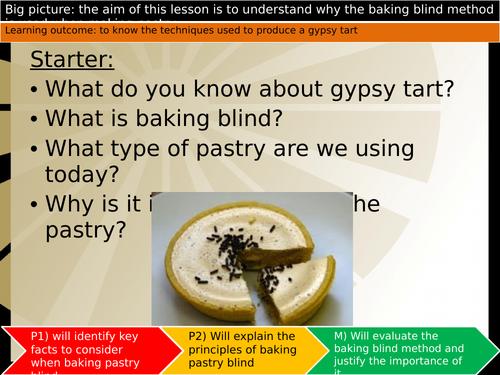 Sweet pastry - Gypsy Tart