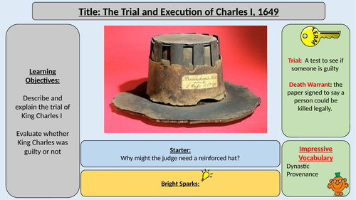 Trial and Execution of Charles I 1649