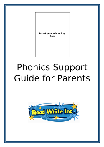 Editable RWI Support Guide for Parents