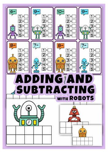 Adding & Subtracting With robots