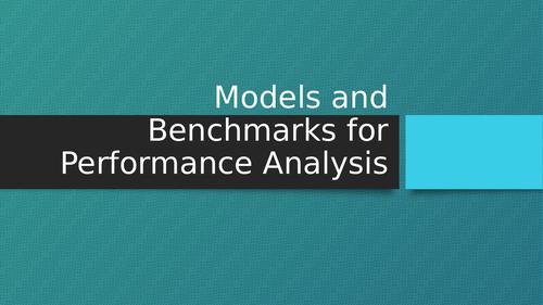 BTEC Sport Methods/Protocols for Analysis